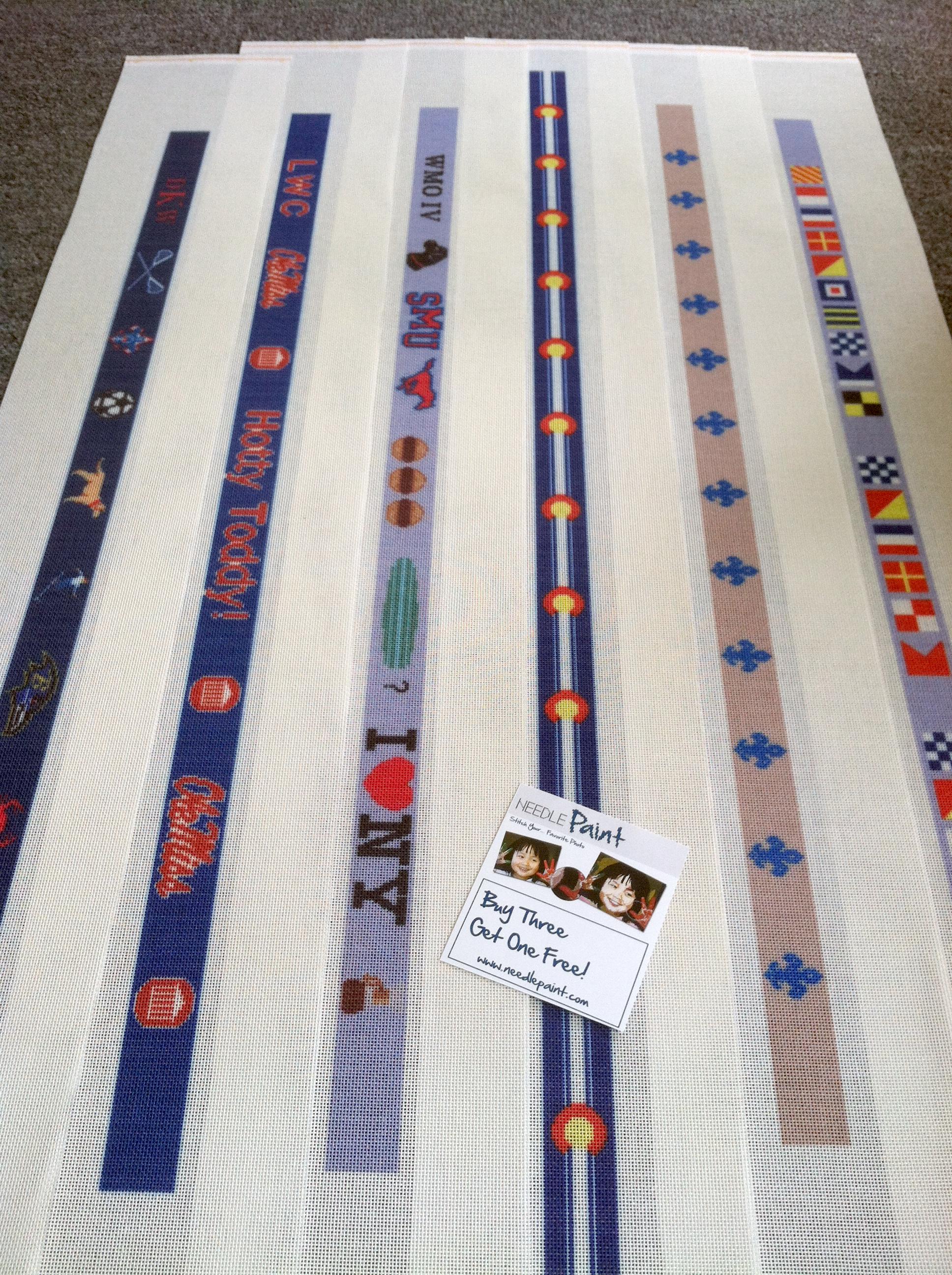 custom needlepoint belt canvases | NeedlePoint Kits and ...
