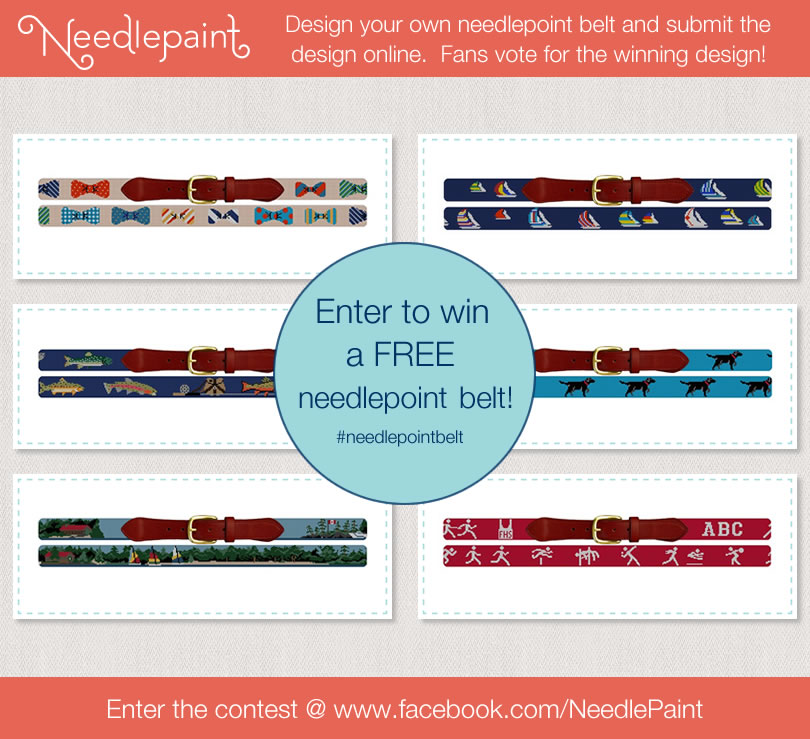 NeedlePaint.com - Needlepoint Belt Design Contest
