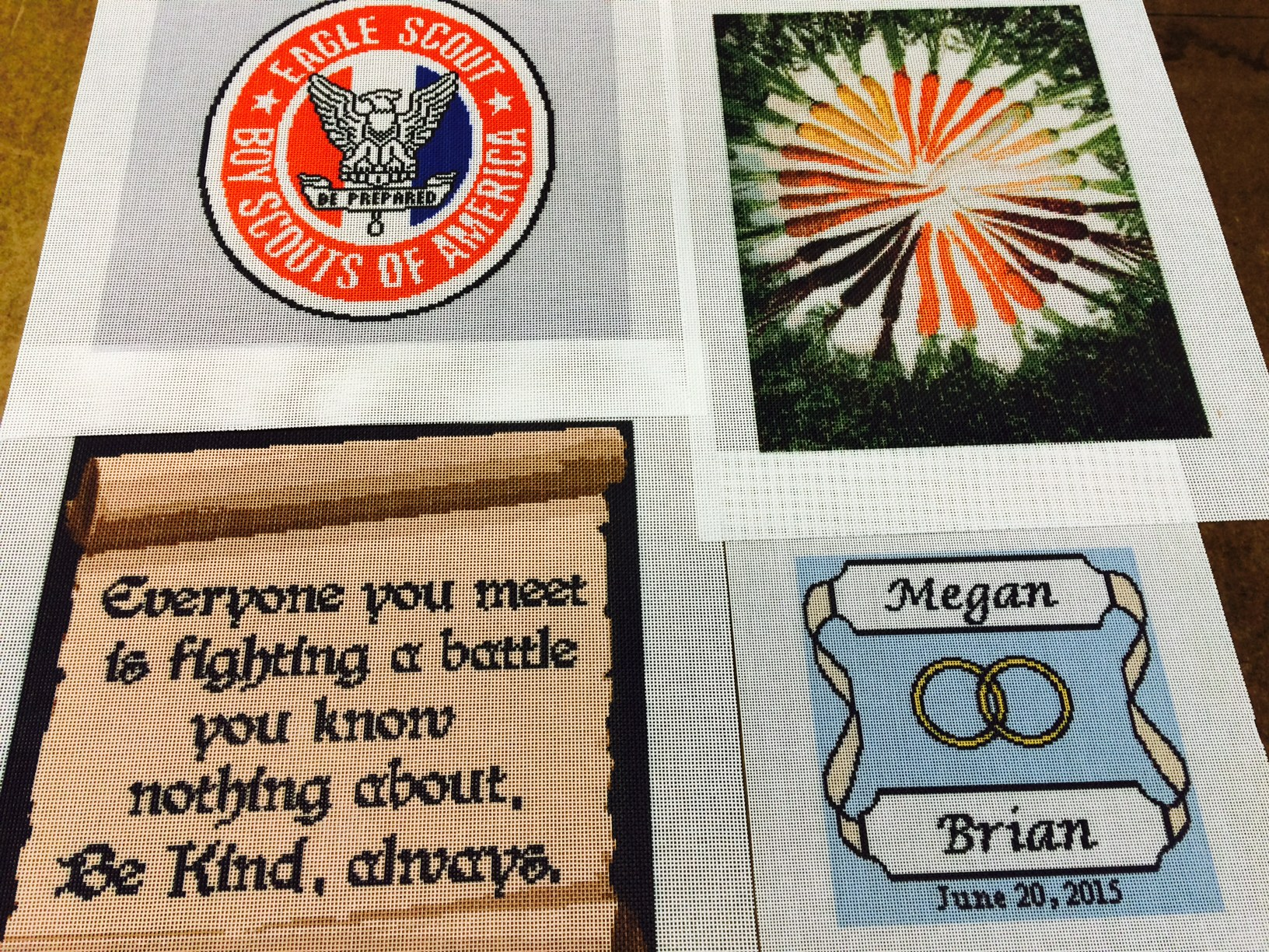 Personalized Needlepoint Kits