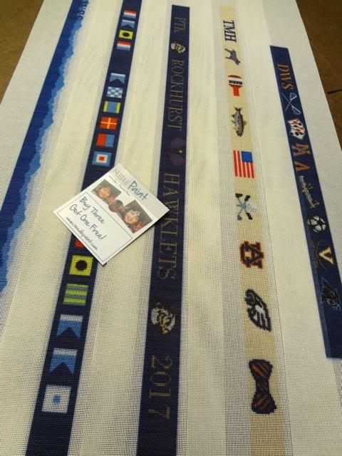 Custom Belt Needlepoint Canvases