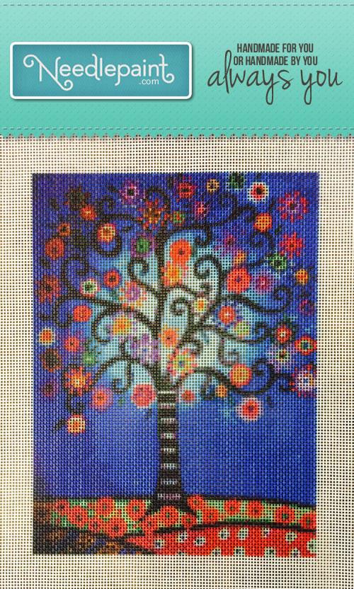 Custom Art Needlepoint Kit