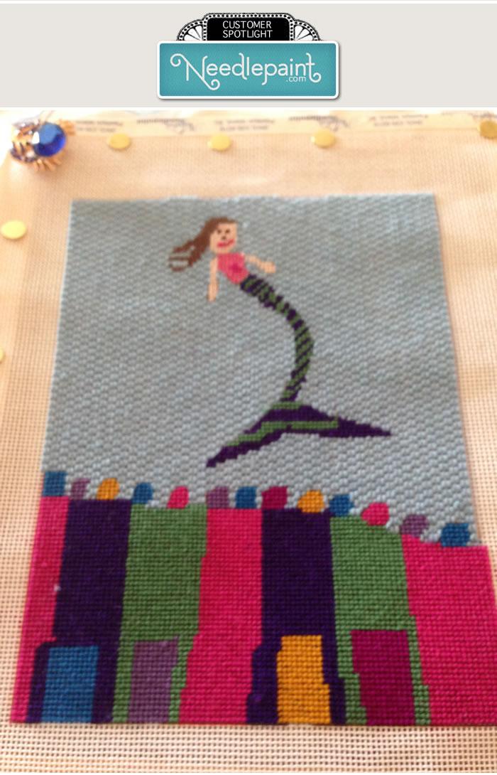 Needlepoint Kids Art