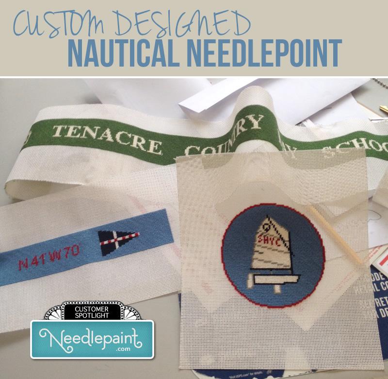 Nautical Needlepoint