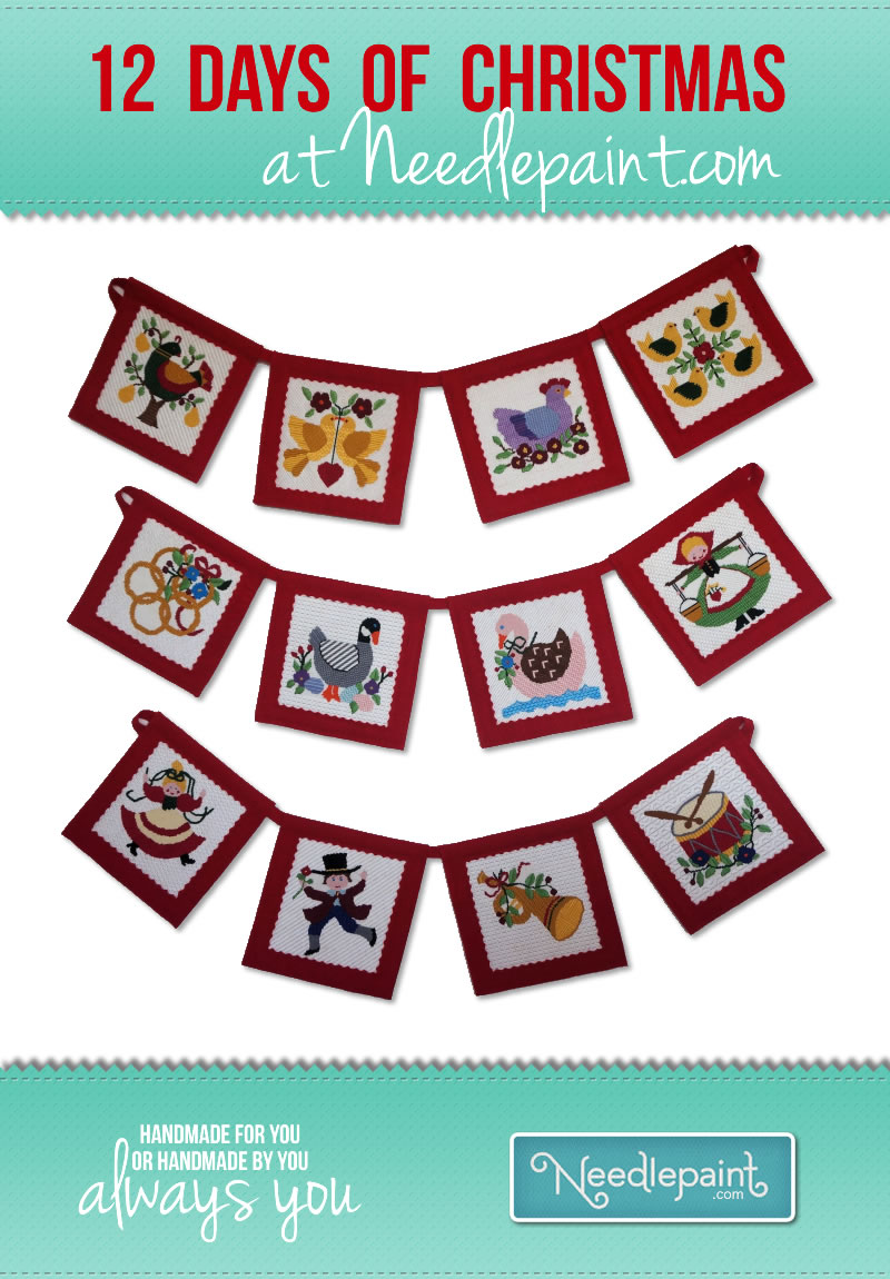 12 Days of Christmas Needlepoint Kits