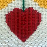 Needlepoint Heart