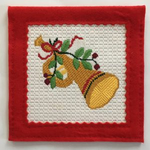 Eleven Pipers Piping Christmas Needlepoint