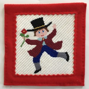 Ten Lords A-Leaping Christmas Needlepoint