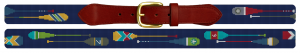 Preppy Paddle Needlepoint Belt Canvas