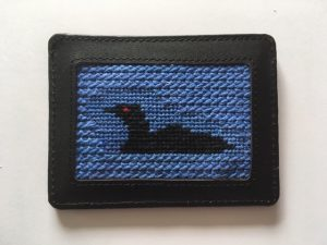 NeedlePaint Loon card wallet