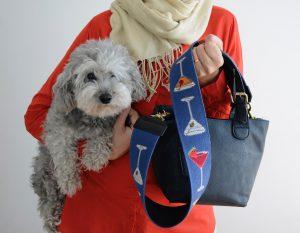 NeedlePaint purse strap one