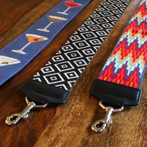 Purse strap leather finishing