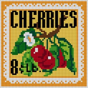 NeedlePaint Cheery Cherries Needlepoint Canvas