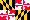 Flag Maryland State