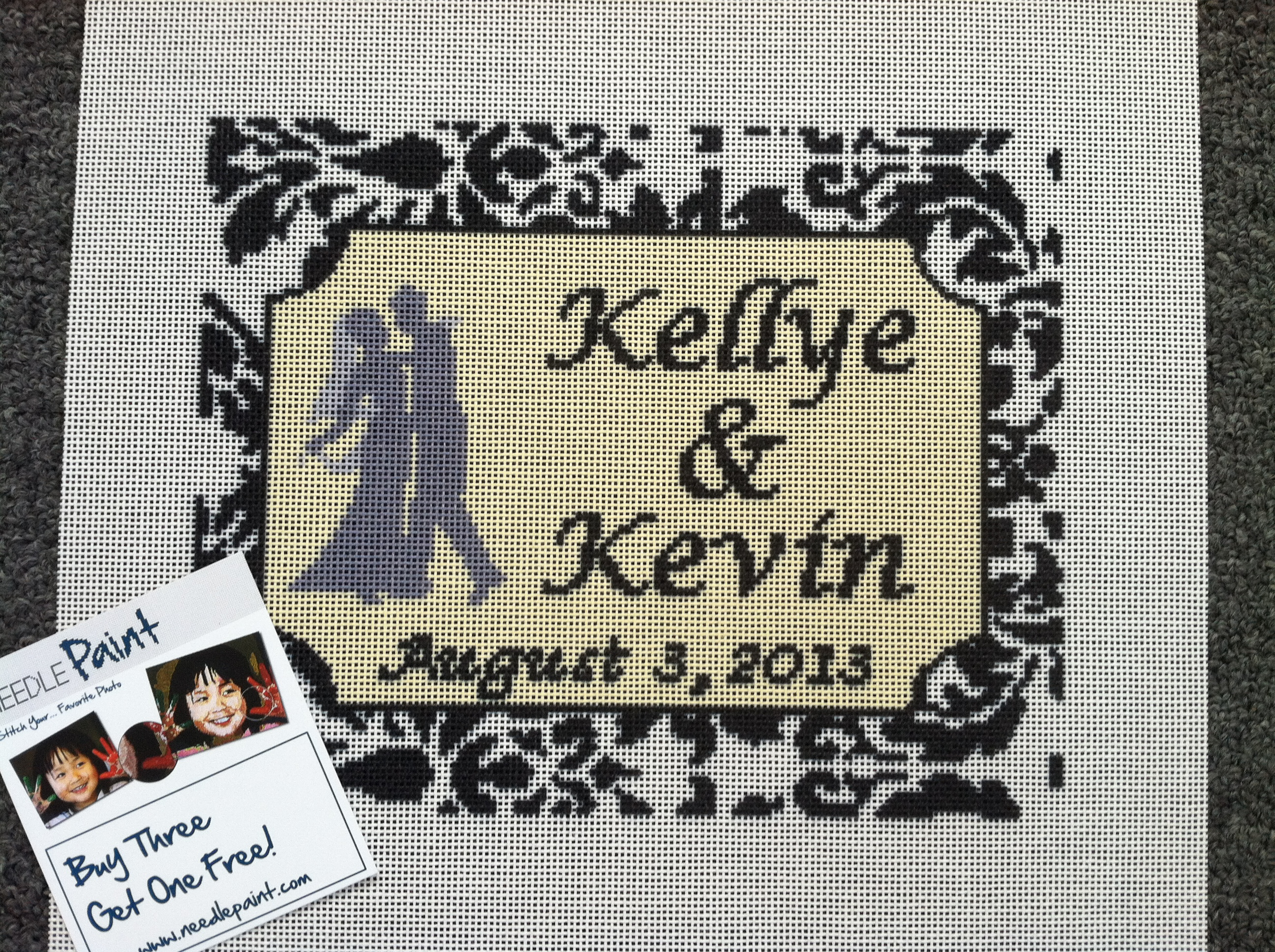 wedding needlepoint needlepoint kits and canvas designs