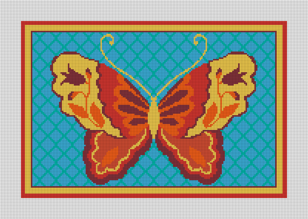 Butterfly Bliss Needlepoint Kit