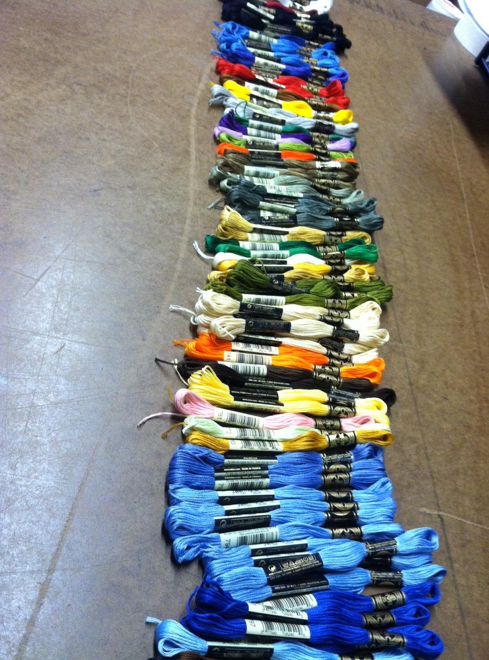 DMC Needlepoint Thread (embroidery floss)