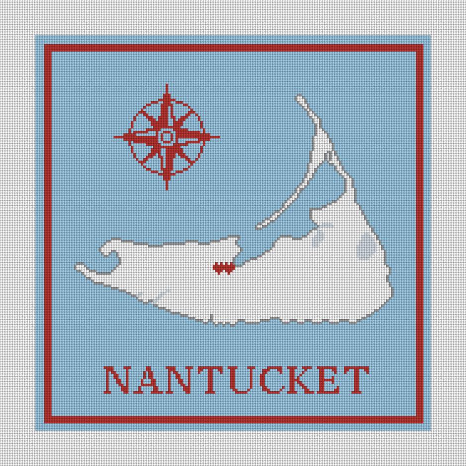 Nantucket Wedding Pillow