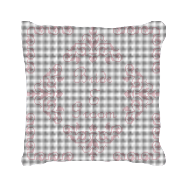 Poitiers Personalized Needlepoint Ring Bearer Pillow