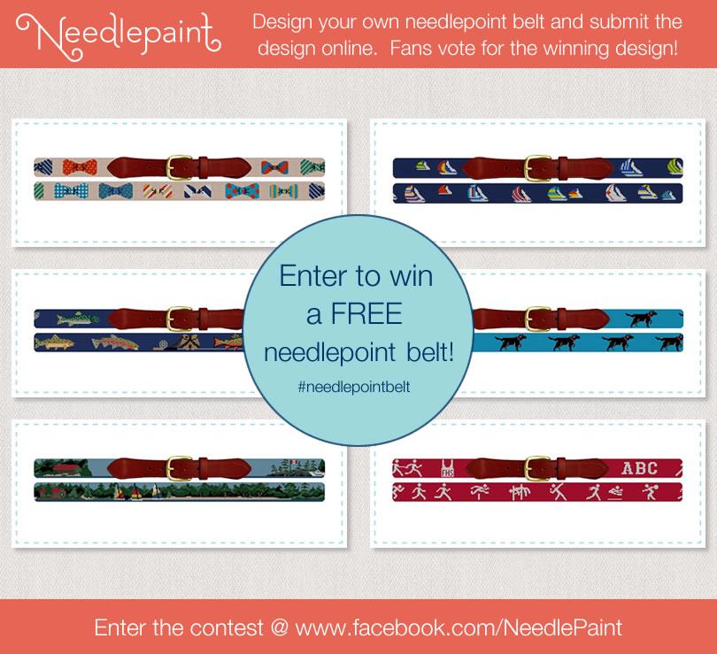 NeedlePaint.com - Needlepoint Belt Design Contest