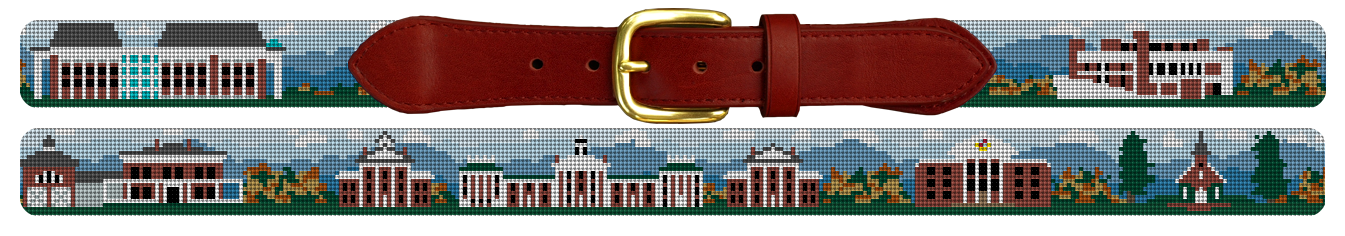 Washington and Lee University Needlepoint Belt