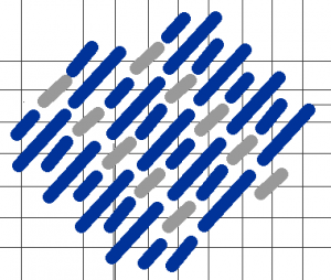 TwoColor Sky Grid