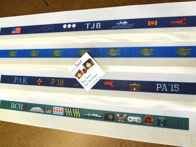 Life Belt Needlepoint Canvases