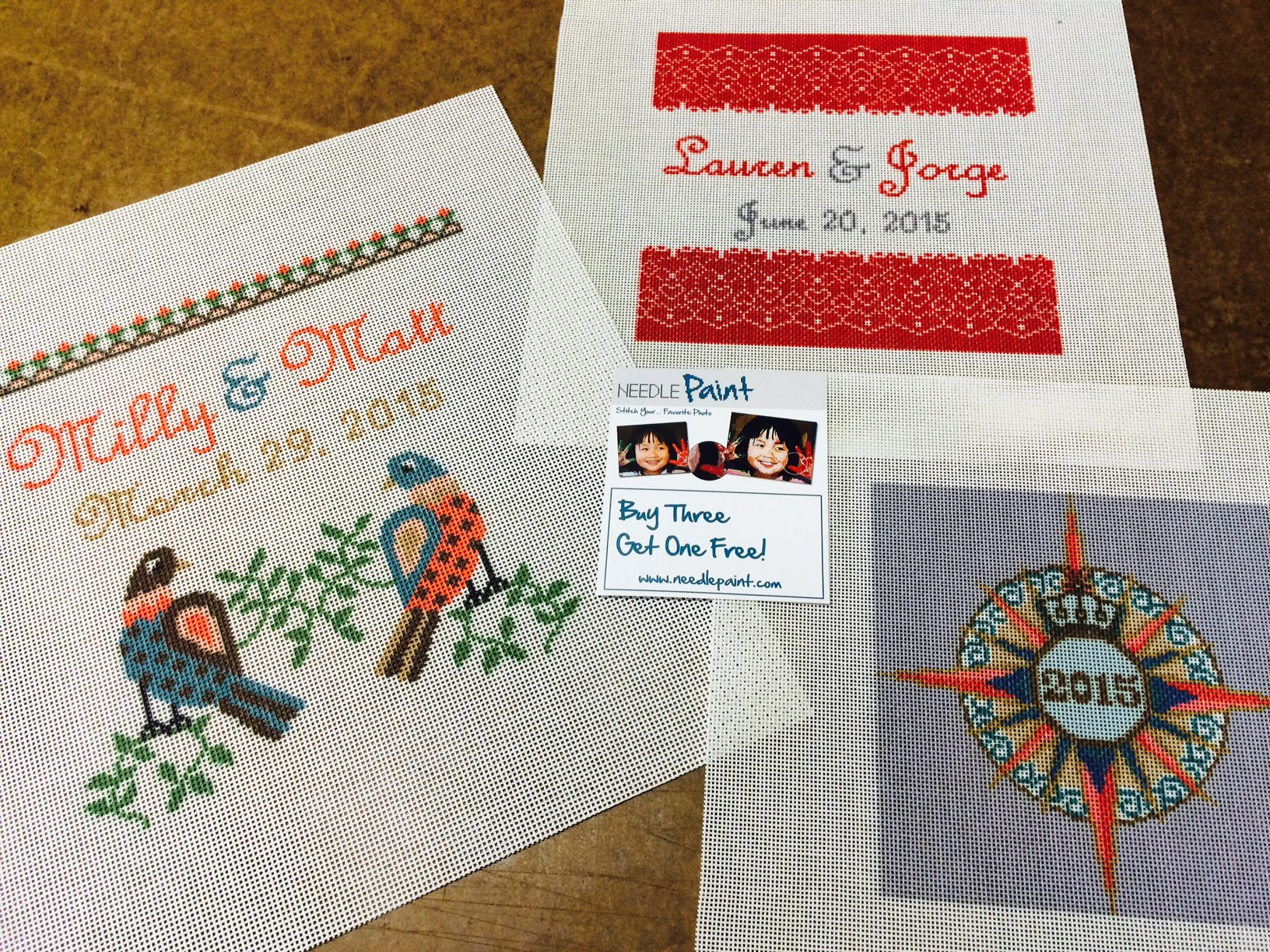 Wedding Needlepoint Kits