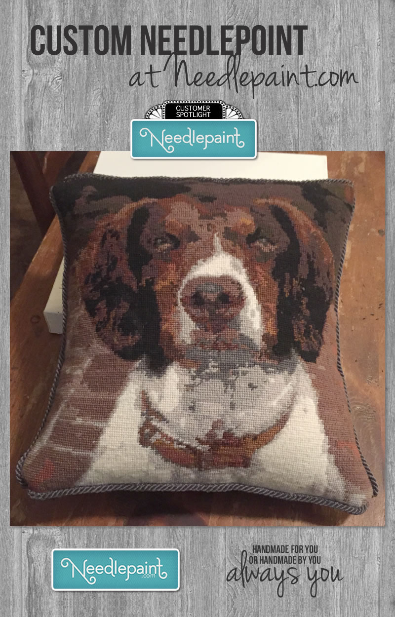 Dog Photo to Needlepoint