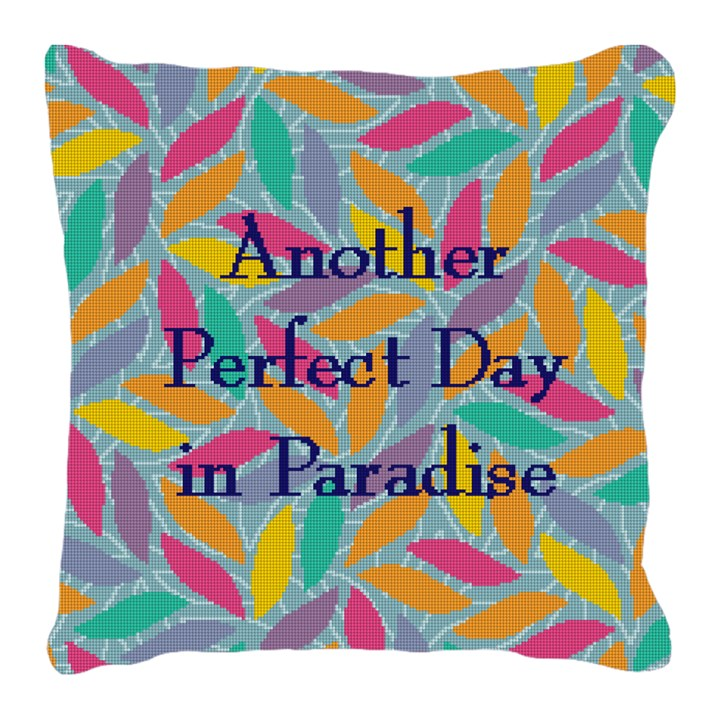 Perfect Day Needlepoint Pillow Canvas