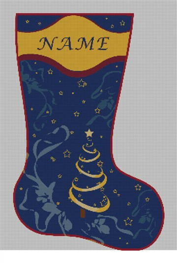 personalized needlepoint christmas stocking canvas