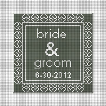 Gray Timeless Ring Bearer Pillow Canvas