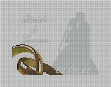 I Do Wedding Ring Pillow Canvas
