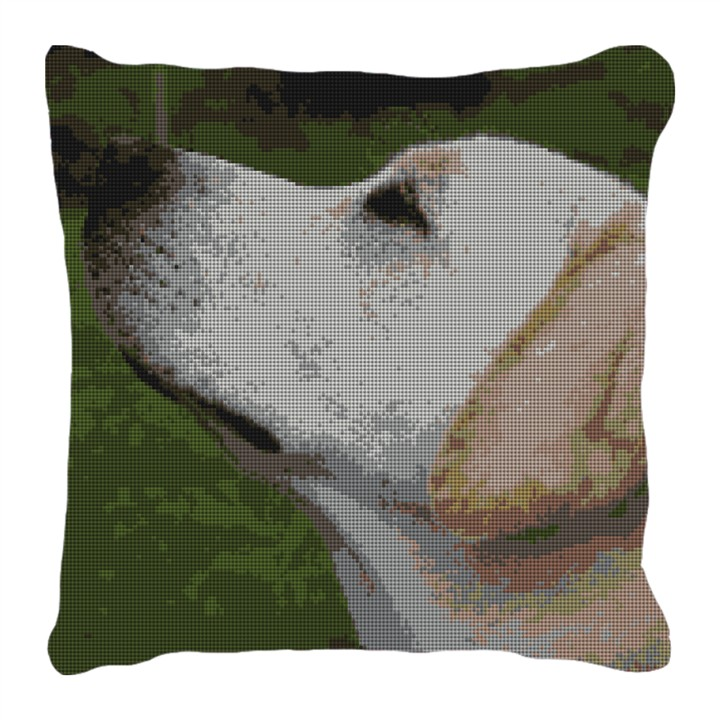 Yellow Lab Needlepoint Personalized Pillow