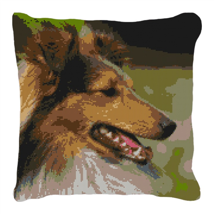 Shetland Sheepdog Personalized Pillow