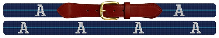 Custom Groomsmen Gift Needlepoint Belt