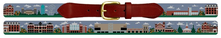 University of Kentucky Campus Needlepoint Belt