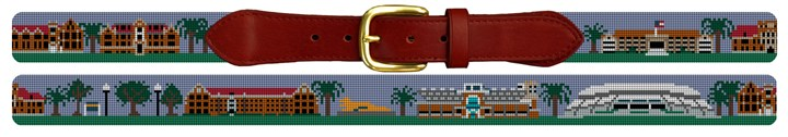 University of Florida Campus Needlepoint Belt