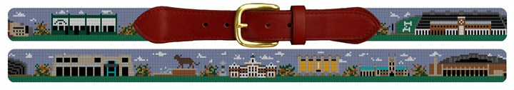 Mizzou Campus Needlepoint Belt