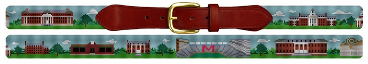 University of Maryland Needlepoint Belt