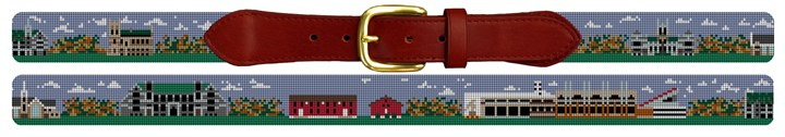 Boston College Campus Needlepoint Belt