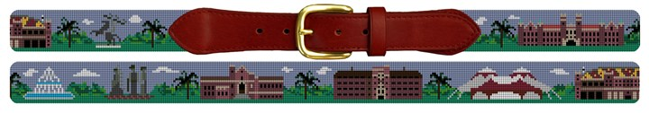 Florida State Campus Needlepoint Belt