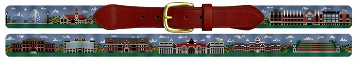 Ohio State Campus Needlepoint Belt