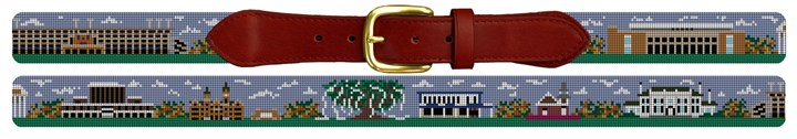 Auburn University Campus Needlepoint Belt