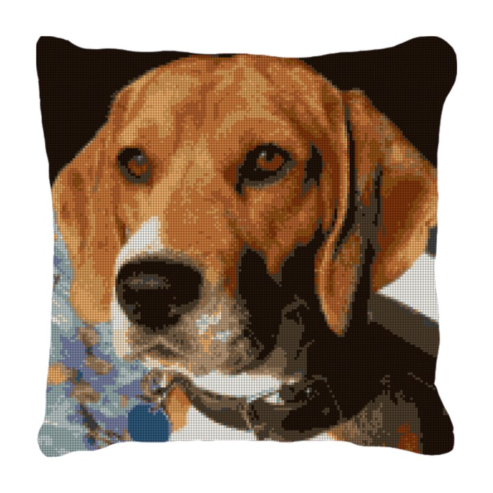Beagle Needlepoint Pillow Kit