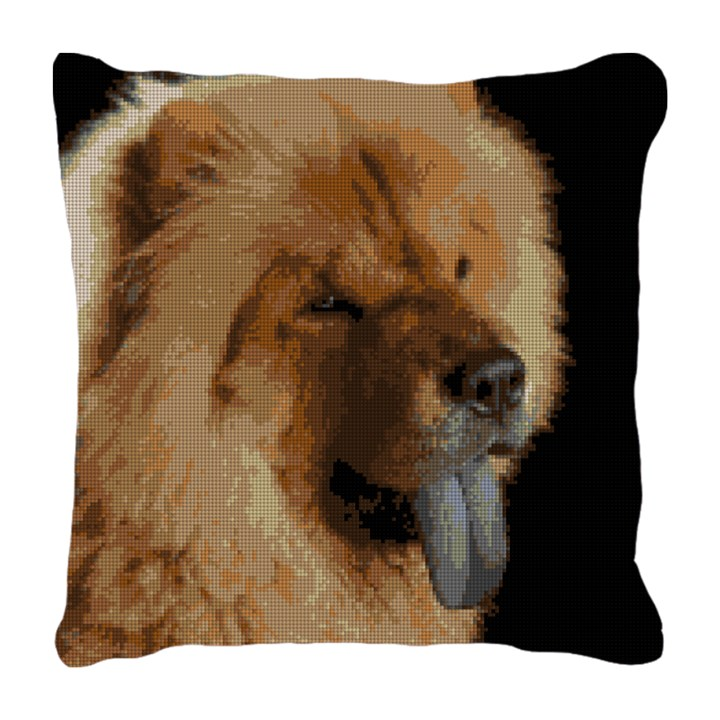Chow Chow Needlepoint Pillow