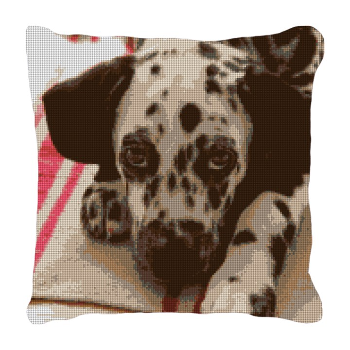 Dalmatian Needlepoint Pillow