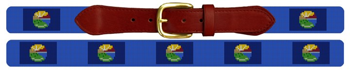 Montana Needlepoint Belt