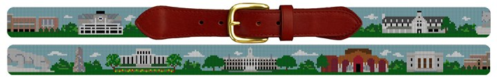 Penn State University Campus Needlepoint Belt