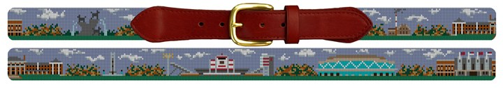 North Carolina State Campus Needlepoint Belt