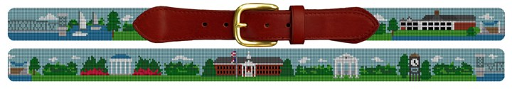 UNC Wilmington Campus Needlepoint Belt